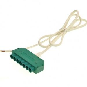 Zwakstroom connector systeem